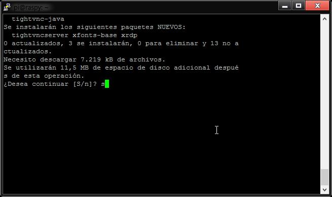 Conectar Raspberry Pi por escritorio remoto 2