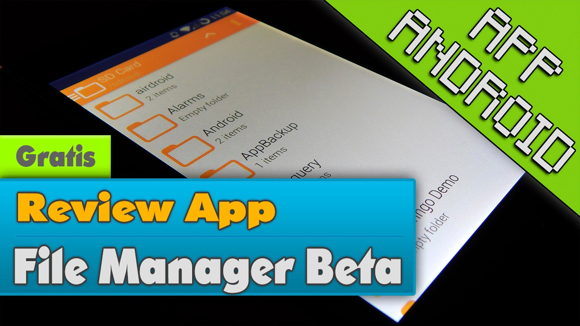 review app - file manager beta