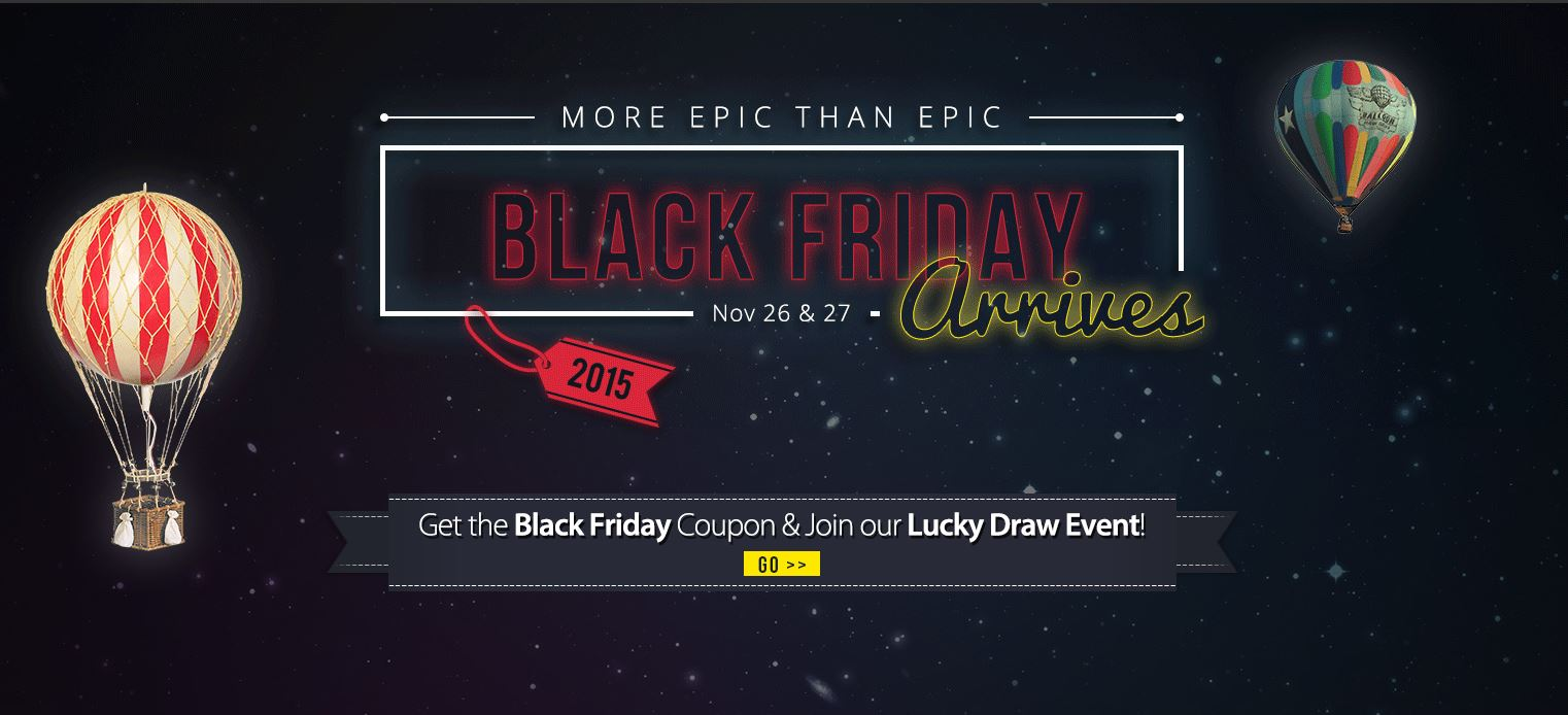 black Friday Online Sales 2015 from Best China Supplier - GearBest.com